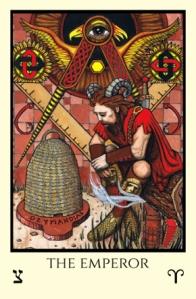 Emperor Tabula Mundi Tarot