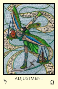 Adjustment Tabula Mundi Tarot